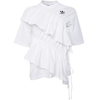 adidas Womens X J KOO T-Shirt White