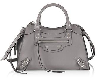 Balenciaga Small Neo Classic Leather Satchel