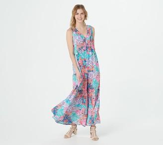 Tolani Collection Petite Sleeveless Maxi Dress