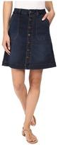 Jag Jeans Florence Skirt Republic Denim in Indigo Steel