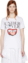Undercover White Mouth Logo T-shirt