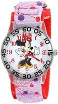 Disney Kids' W001666 Minnie Mouse Analog Display Analog Quartz Pink Watch