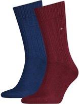 Tommy Hilfiger 2-Pack Heritage Ribbed Men's Socks