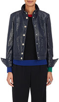 Lisa Perry Women's Snazzy Cotton-Blend Vinyl Jacket