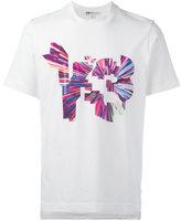 Y-3 coloured logo print T-shirt