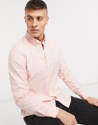 Esprit shirt in red vertical stripe