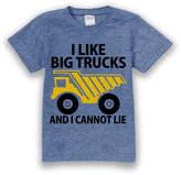 Urban Smalls Heather Blue 'I Like Big Trucks' Tee - Toddler & Boys