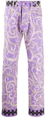 Emilio Pucci x Koche Selva print jeans