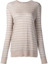 Alexander Wang striped sheer T-shirt