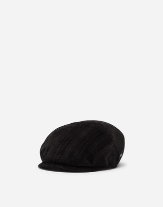 Dolce & Gabbana Needlecord Flat Cap