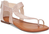 Jessica Simpson Kaarna Toe-Loop Flat Sandals