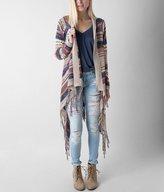 Paper Crane Striped Cardigan Sweater
