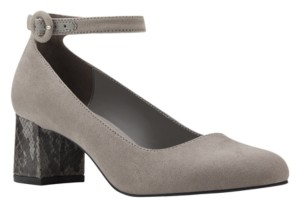 Bandolino Odear Low Block Heel Pumps Women's Shoes