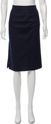 Prada Knee-Length Pencil Skirt