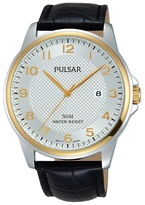 Pulsar Gents Two Tone Strap Watch Ps9444x1