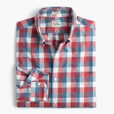 J.Crew Slim Secret Wash shirt in exploded pink check