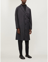 Issey Miyake Single-breasted pleated shell jacket