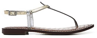 Sam Edelman Gigi Metallic Thong Slides