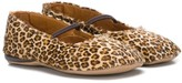 Pépé Kids leopard print Mary Jane shoes