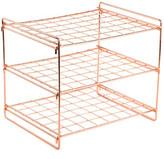 Design Ideas Copper Lincoln Magazine Rack