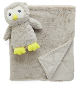 Jesse & Lulu Jesse Lulu Baby Boys and Girls Plush Blanket and Toy Set