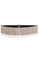 Quiz Rose Gold Diamante Waist Belt