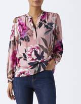Monsoon Lydia Hydrangea Print Shirt