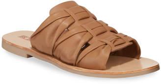 Sol Sana Flora Leather Slide Sandals