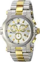 Oceanaut Men's OC0823 Baccara XL Analog Display Quartz Two Tone Watch