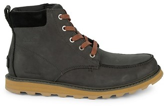 Sorel Madson Moc-Toe Waterproof Leather Boots