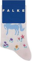 Falke Horse print cotton socks