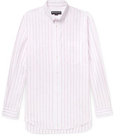 Balenciaga - Oversized Button-down Collar Cotton-jacquard Shirt