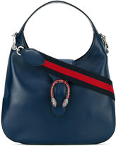 Gucci Dionysus Web detail hobo bag - women - Leather - One Size
