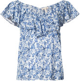 Rebecca Taylor floral print top - women - Cotton - 4