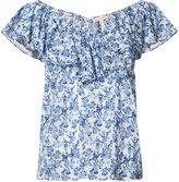 Rebecca Taylor floral print top