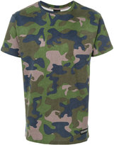 Les (Art)ists camouflage print T-shirt - men - Cotton - S