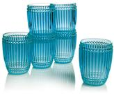 Le Cadeaux Milano Set of 6 Small Plastic Water Glasses