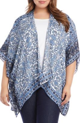 Karen Kane Drape Front Kimono