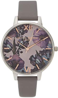 Olivia Burton Twilight Big Dial Silver-plated Watch