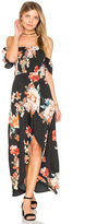 Band of Gypsies Large Floral Maxi Dress