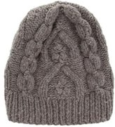 Maison Margiela Wool Cable Knit Beanie