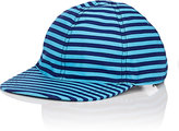 Prada MEN'S STRIPED BASEBALL CAP-BLUE SIZE S