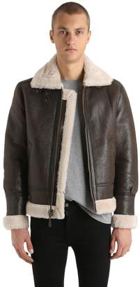 Schott Lc 1259 Shearling Aviator Jacket