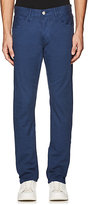 3x1 MEN'S SELVEDGE STRETCH-COTTON SLIM PANTS