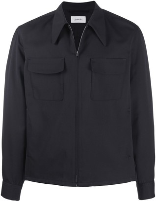Lemaire Pointed Collar Cotton Jacket