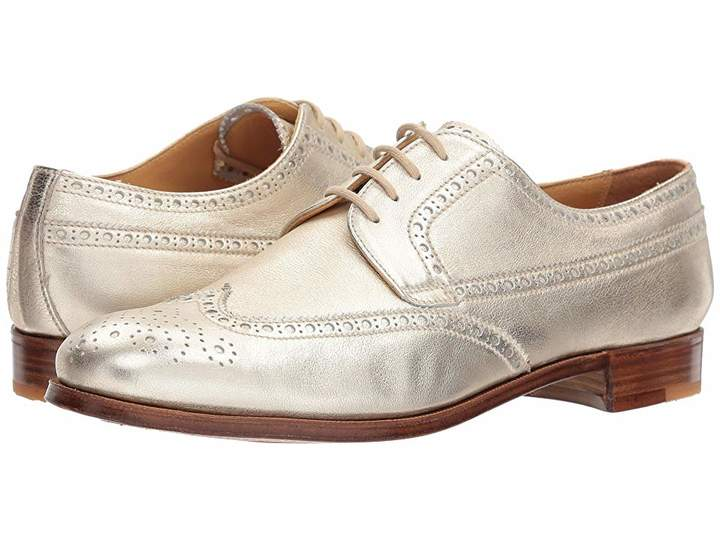Gravati Calf Leather Wing Tip Women's Lace Up Wing Tip Shoes