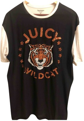 Juicy Couture Black Cotton Top for Women
