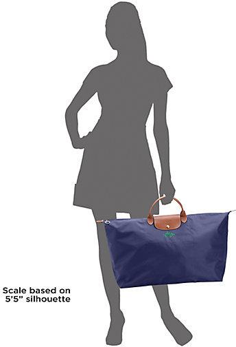 Longchamp Personalized Le Pliage Travel Bag