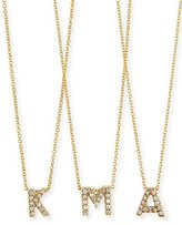 Roberto Coin 18k Yellow Gold Diamond Love Letter Necklace