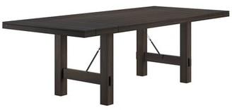 Laurèl Beachem Extendable Dining Table Foundry Modern Farmhouse Color: Black